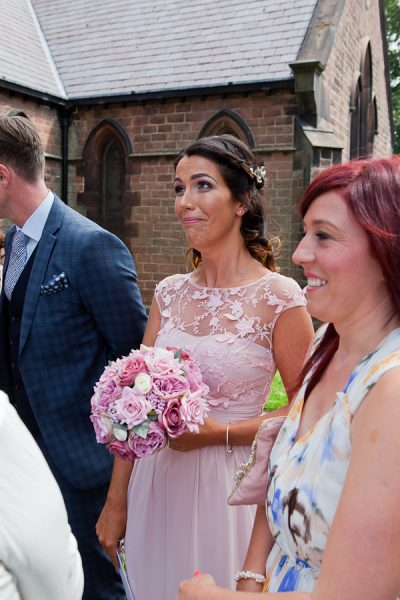 bridesmaid at wedding liverpool