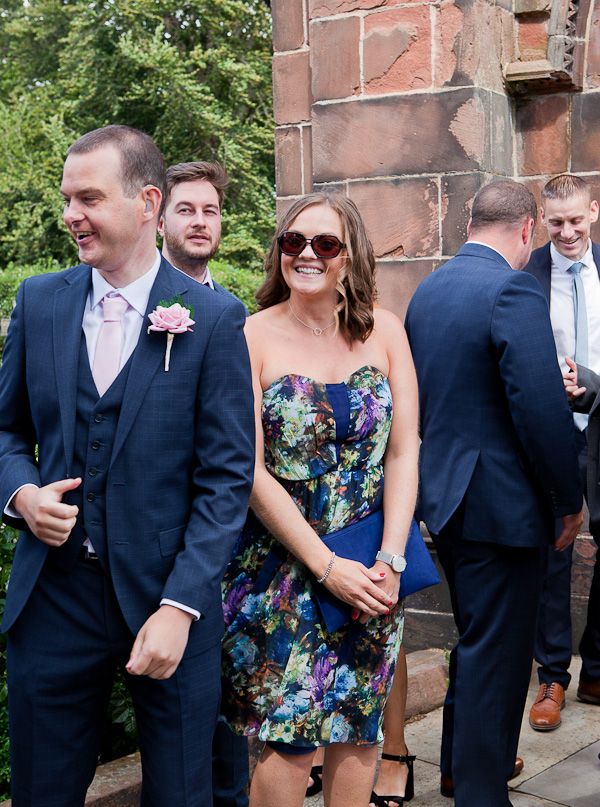 wedding guests in liverpool