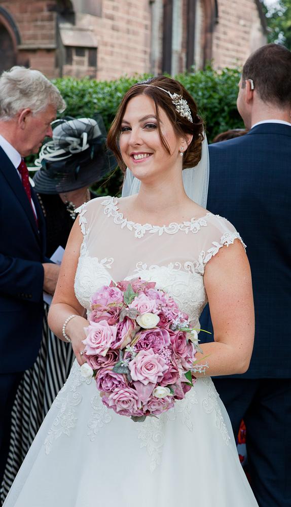 bride at halewood parish liverpool
