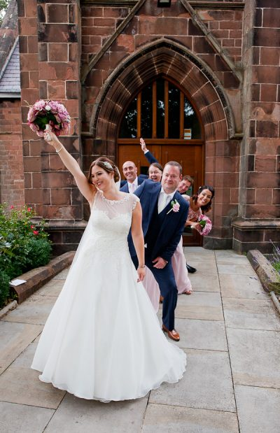 wedding at halewood parish liverpool