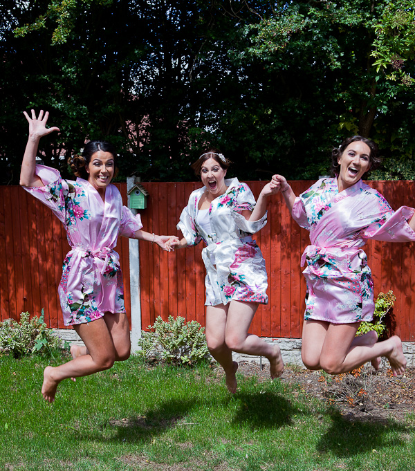 bridesmaids at liverpool wedding