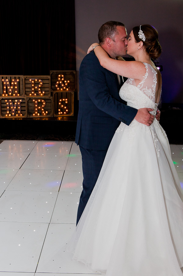 first dance photo at the crowne plaza liverpool