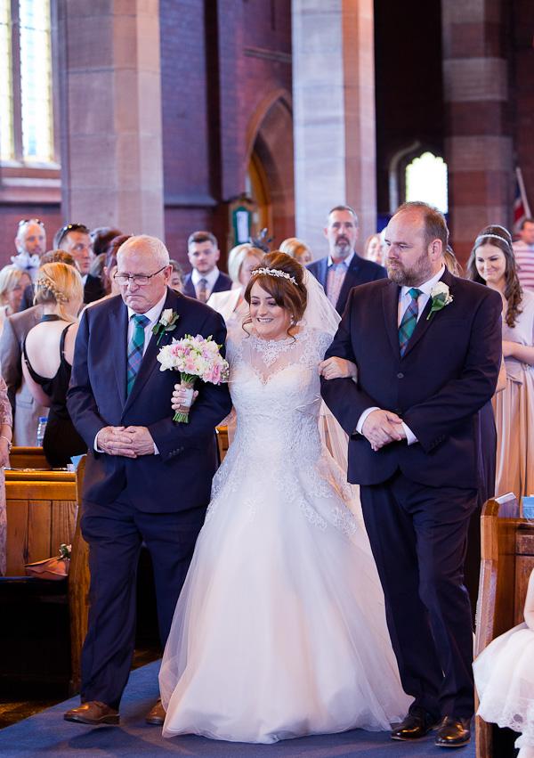 wedding photographer saint aiden church preston