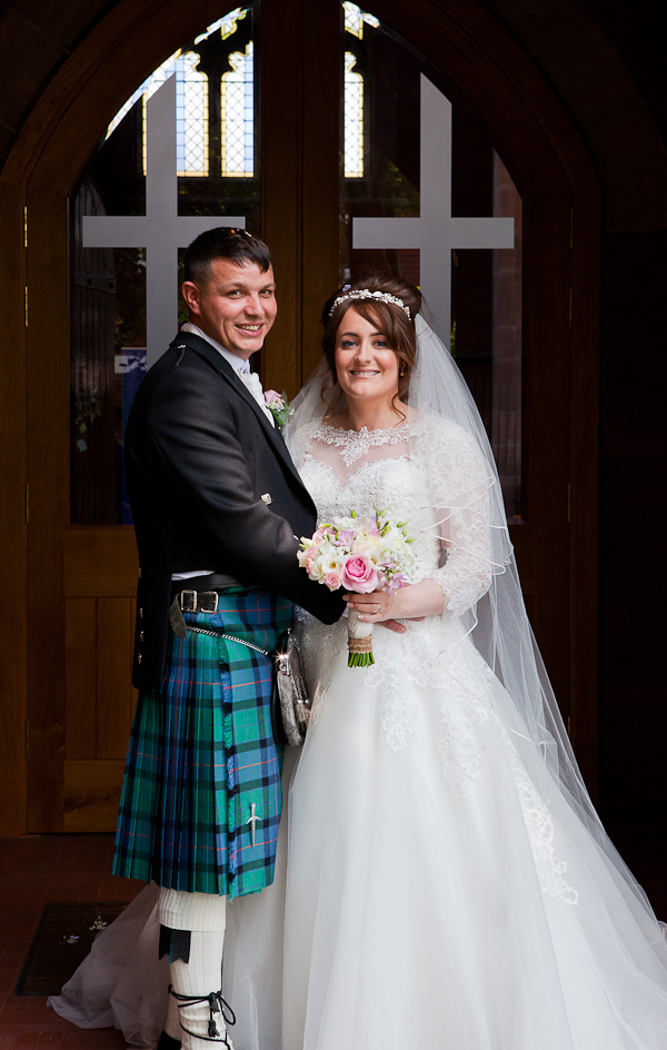 wedding at saint aiden church lancashire