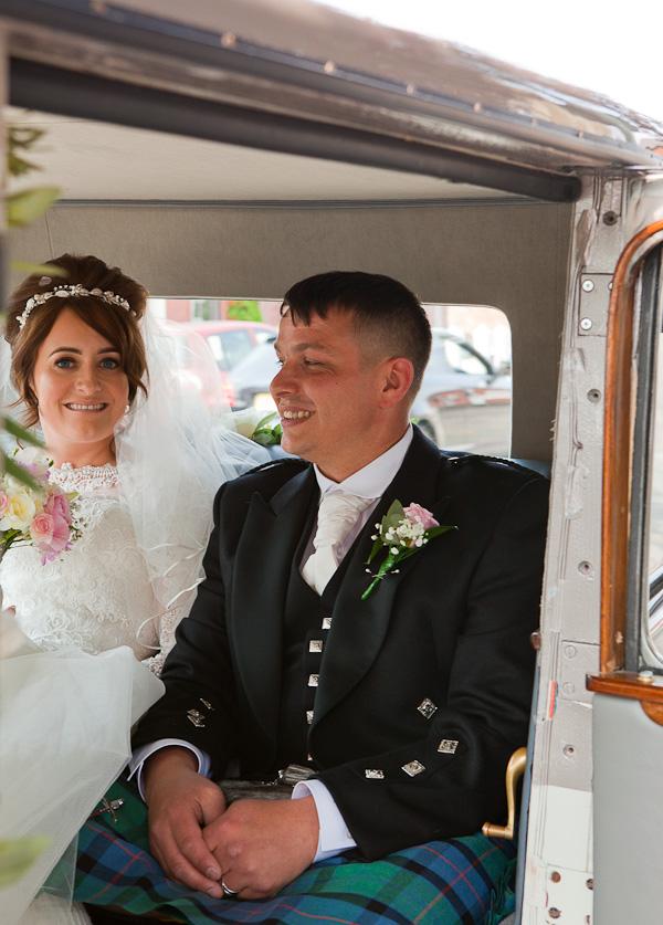 preston wedding car