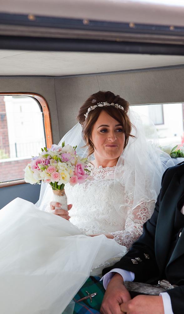 wedding car bamber bridge