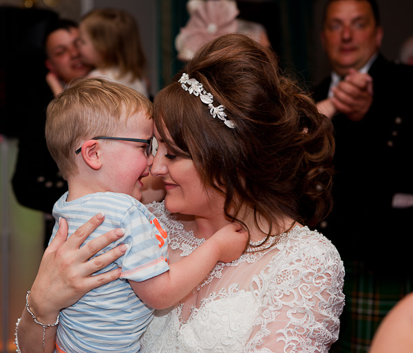 bride at shaw hill lancashire