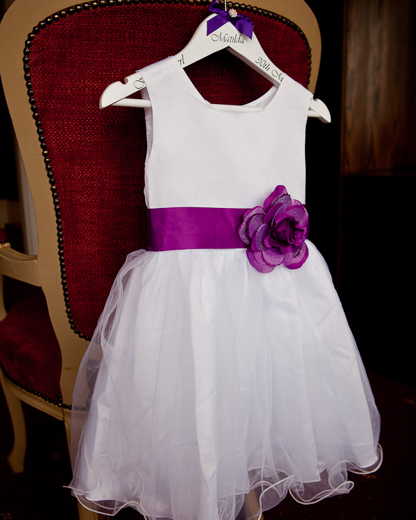 flowergirl dress at farington lodge lancashire