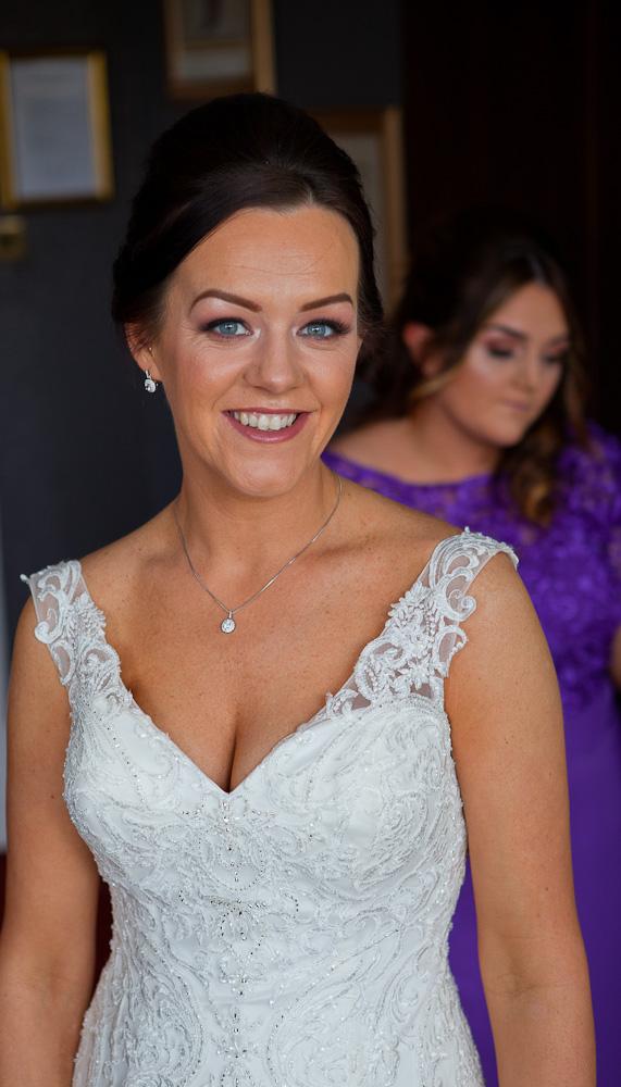 bride at farington lodge lancashire