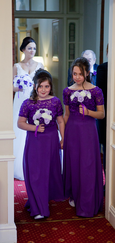 wedding ceremony at farington lodge lancashire