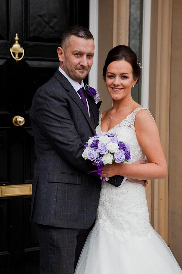 couple at farington lodge lancashire