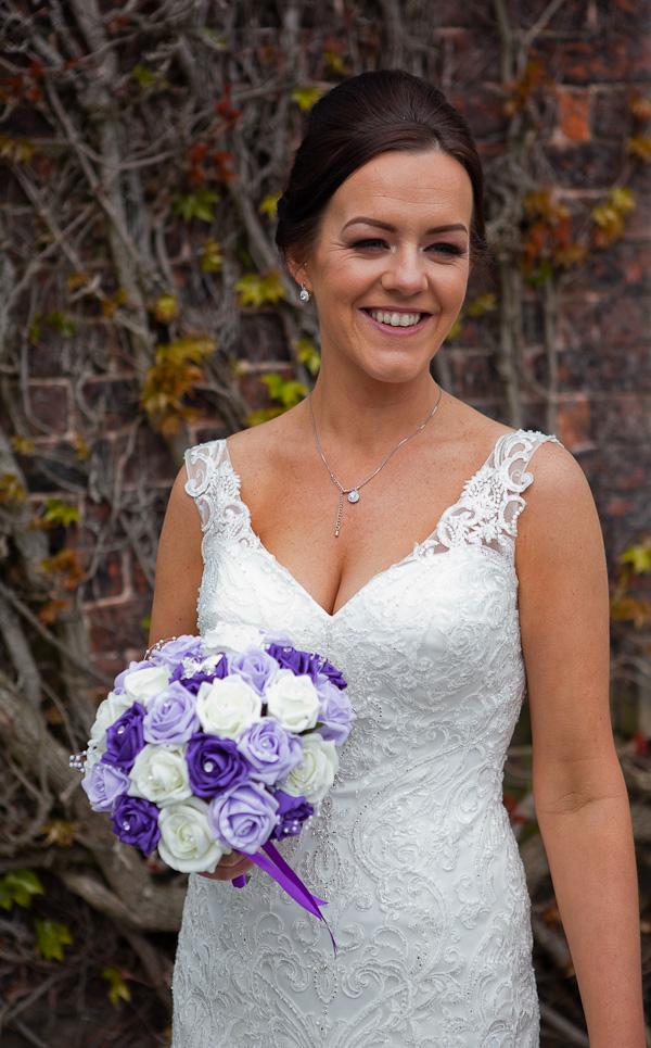 bride photographs at farington lodge lancashire