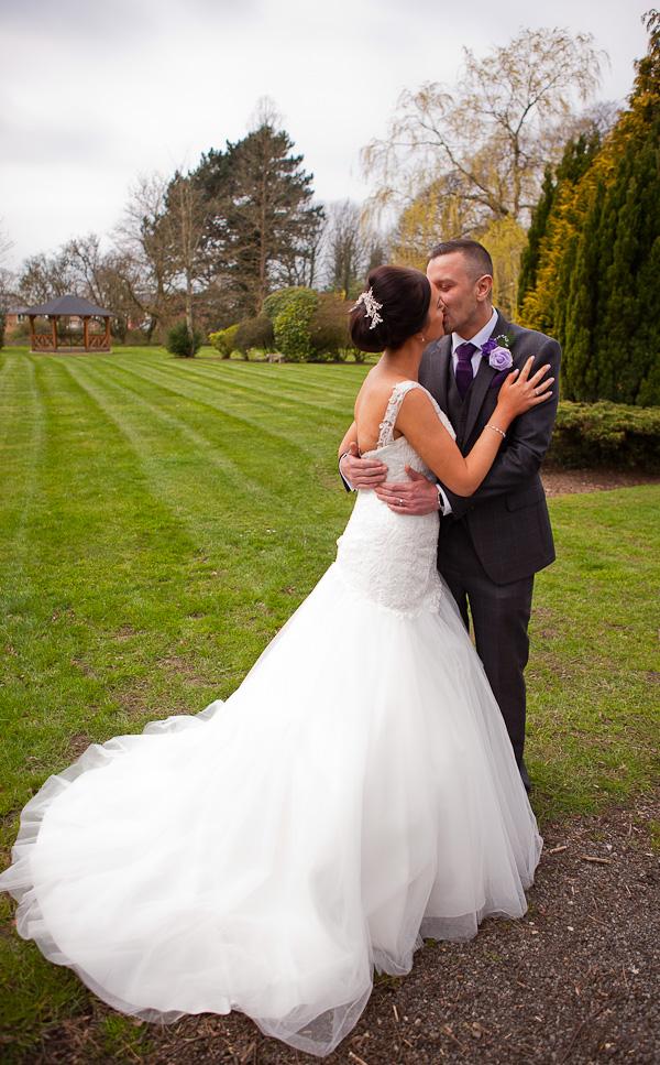 bride and groom farington lodge lancashire