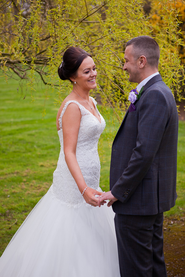 married couple at farington lodge lancashire