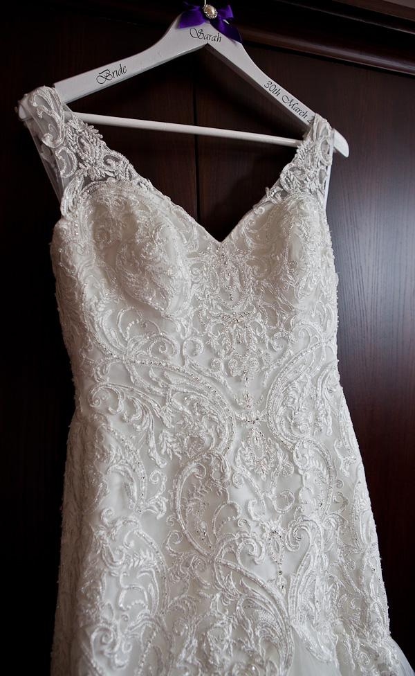 wedding dress at farington lodge lancashire