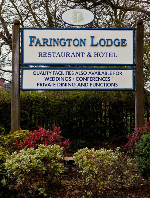 photograph of farington lodge lancashire