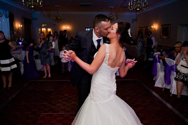 wedding dance at farington lodge lancashire