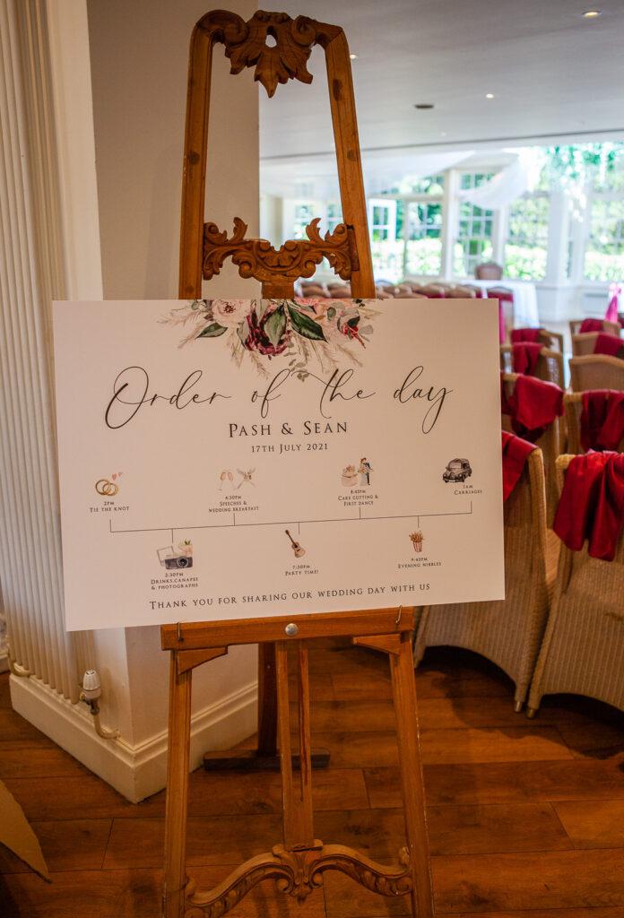 Mitton Hall Wedding Clitheroe Lancashire 10