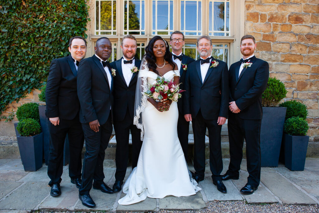 Mitton Hall Wedding Clitheroe Lancashire 100