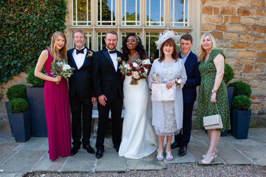 Mitton Hall Wedding Clitheroe Lancashire 102