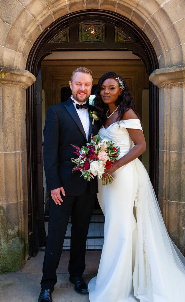 Mitton Hall Wedding Clitheroe Lancashire 113