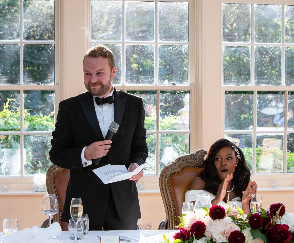 Mitton Hall Wedding Clitheroe Lancashire 128