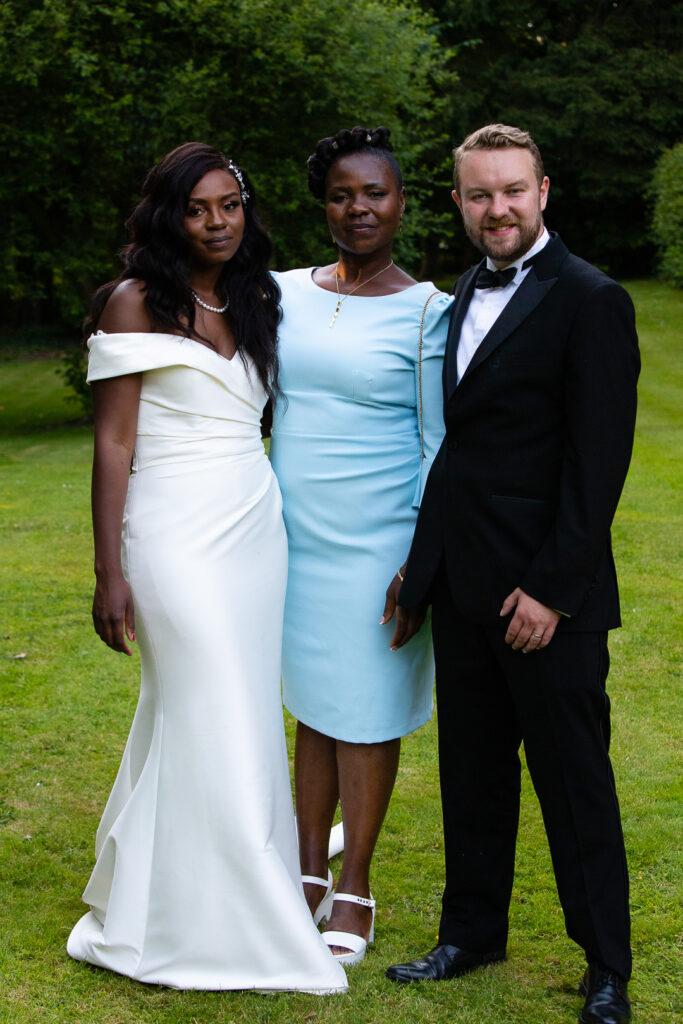 Mitton Hall Wedding Clitheroe Lancashire 155