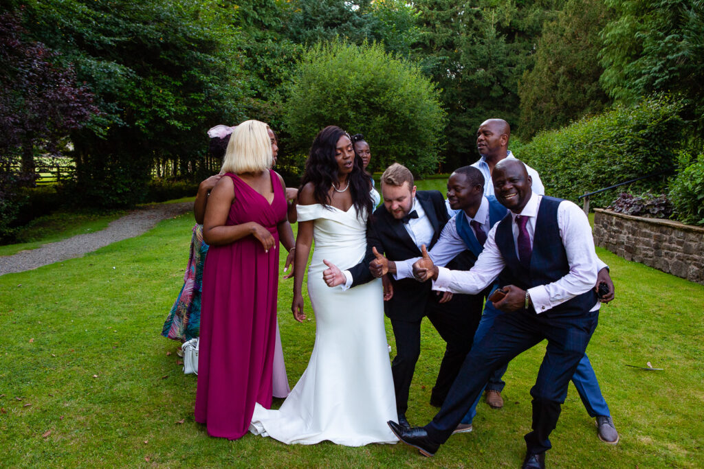 Mitton Hall Wedding Clitheroe Lancashire 164