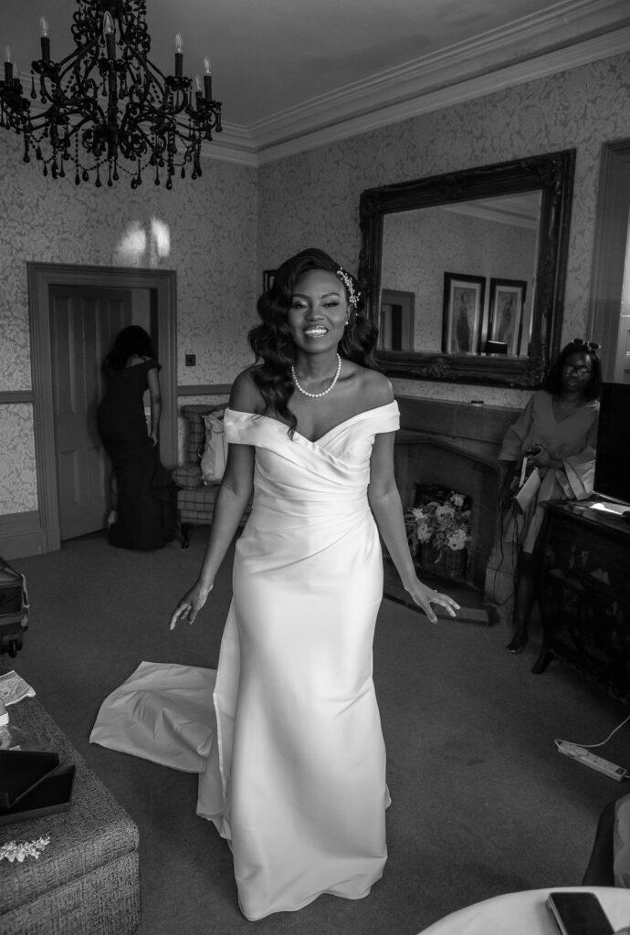 Mitton Hall Wedding Clitheroe Lancashire 27