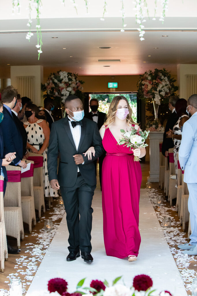 Mitton Hall Wedding Clitheroe Lancashire 44