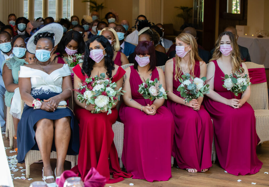 Mitton Hall Wedding Clitheroe Lancashire 54