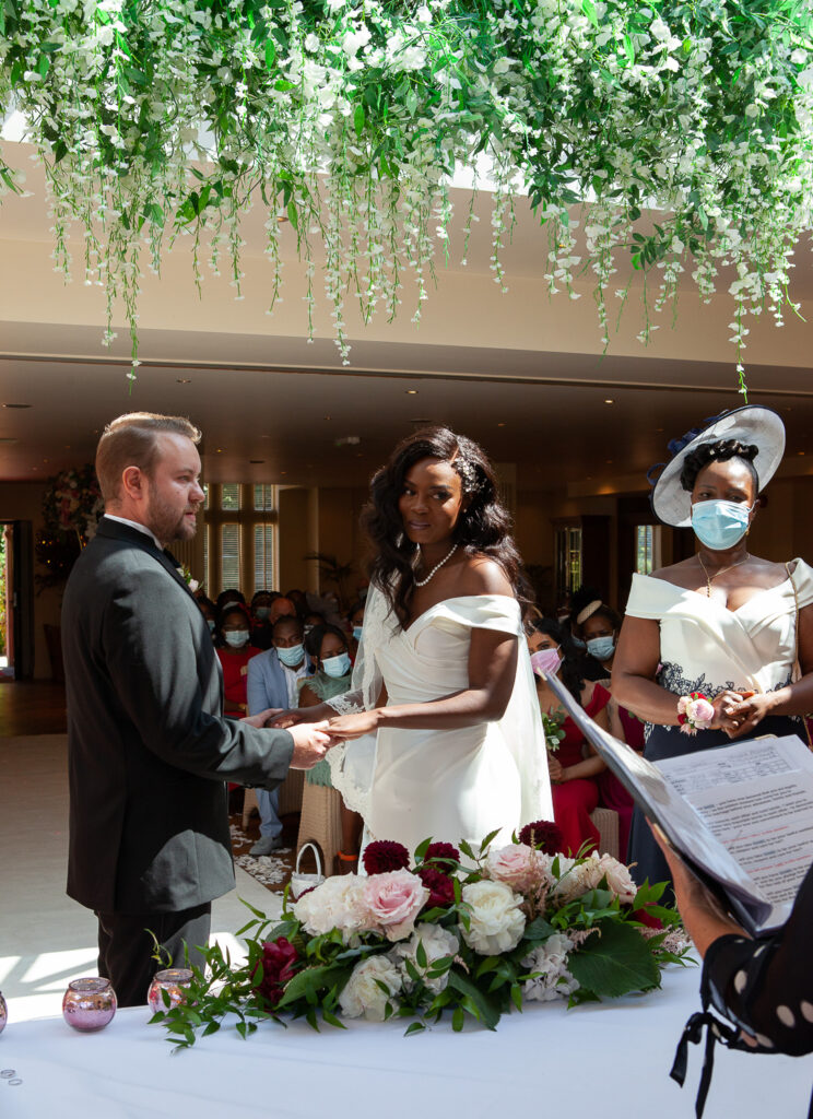 Mitton Hall Wedding Clitheroe Lancashire 59