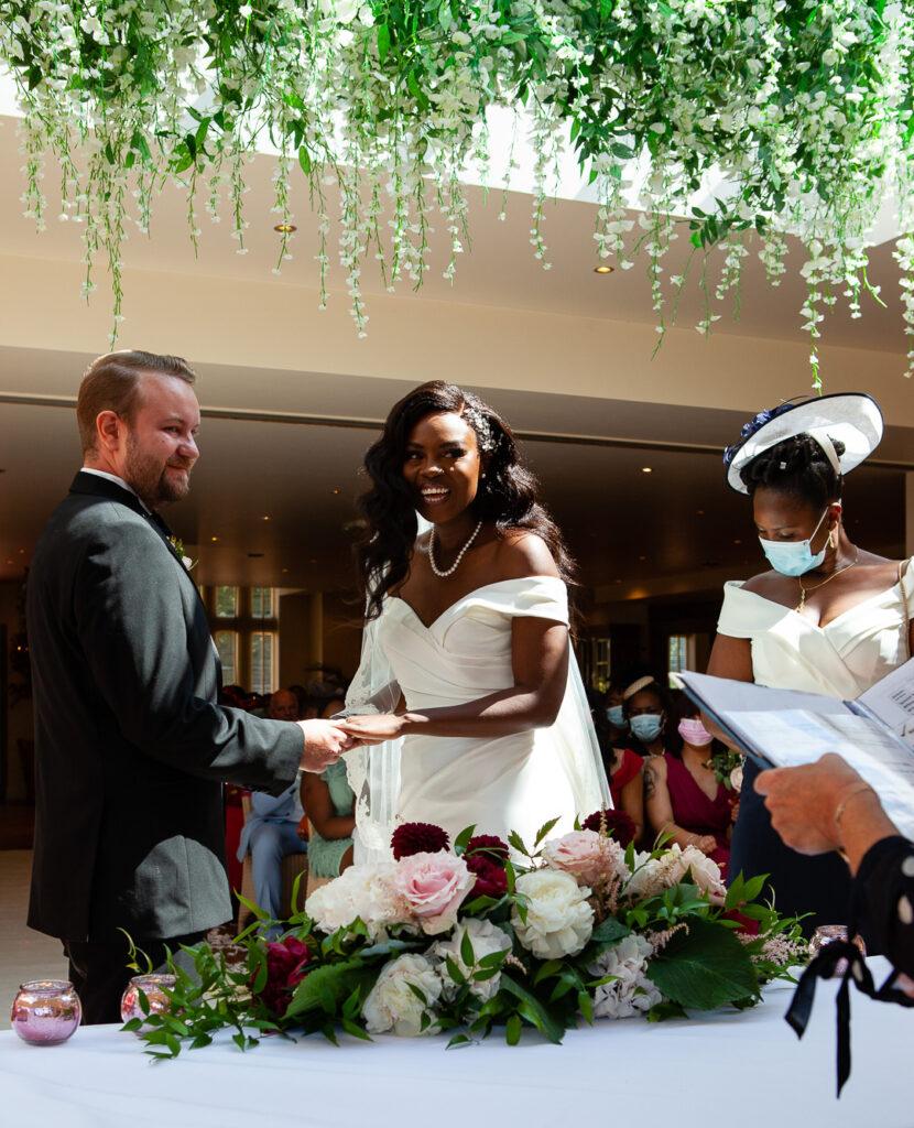 Mitton Hall Wedding Clitheroe Lancashire 61
