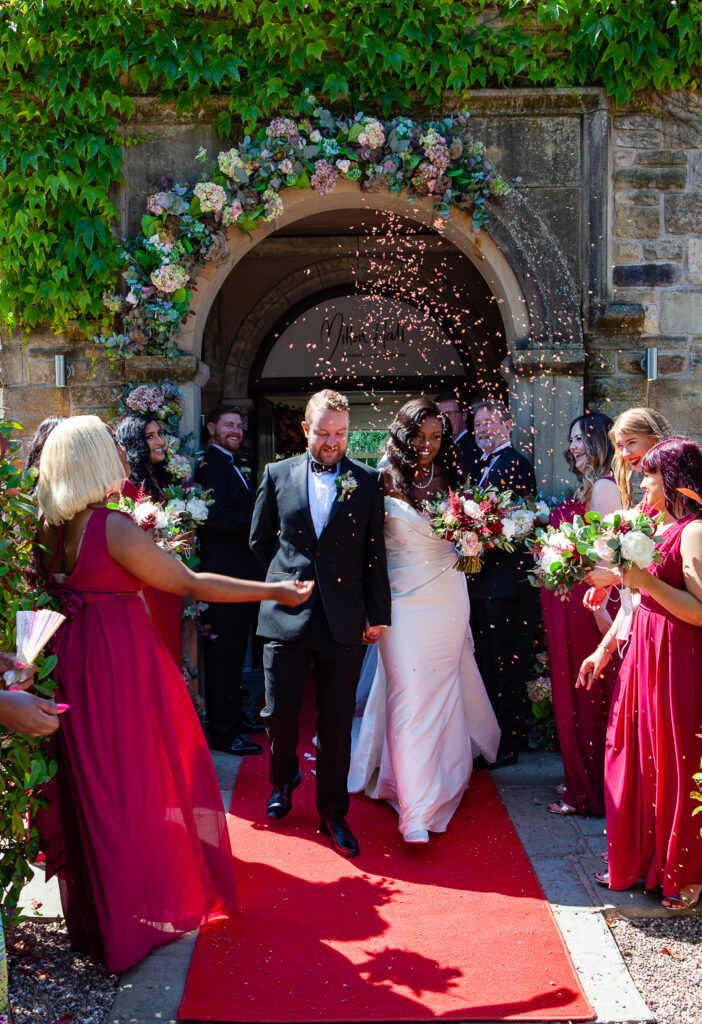Mitton Hall Wedding Clitheroe Lancashire 82