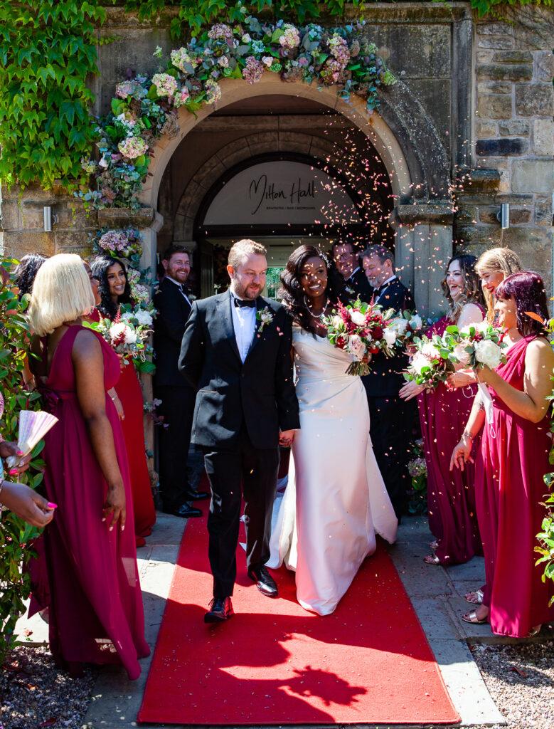 Mitton Hall Wedding Clitheroe Lancashire 83