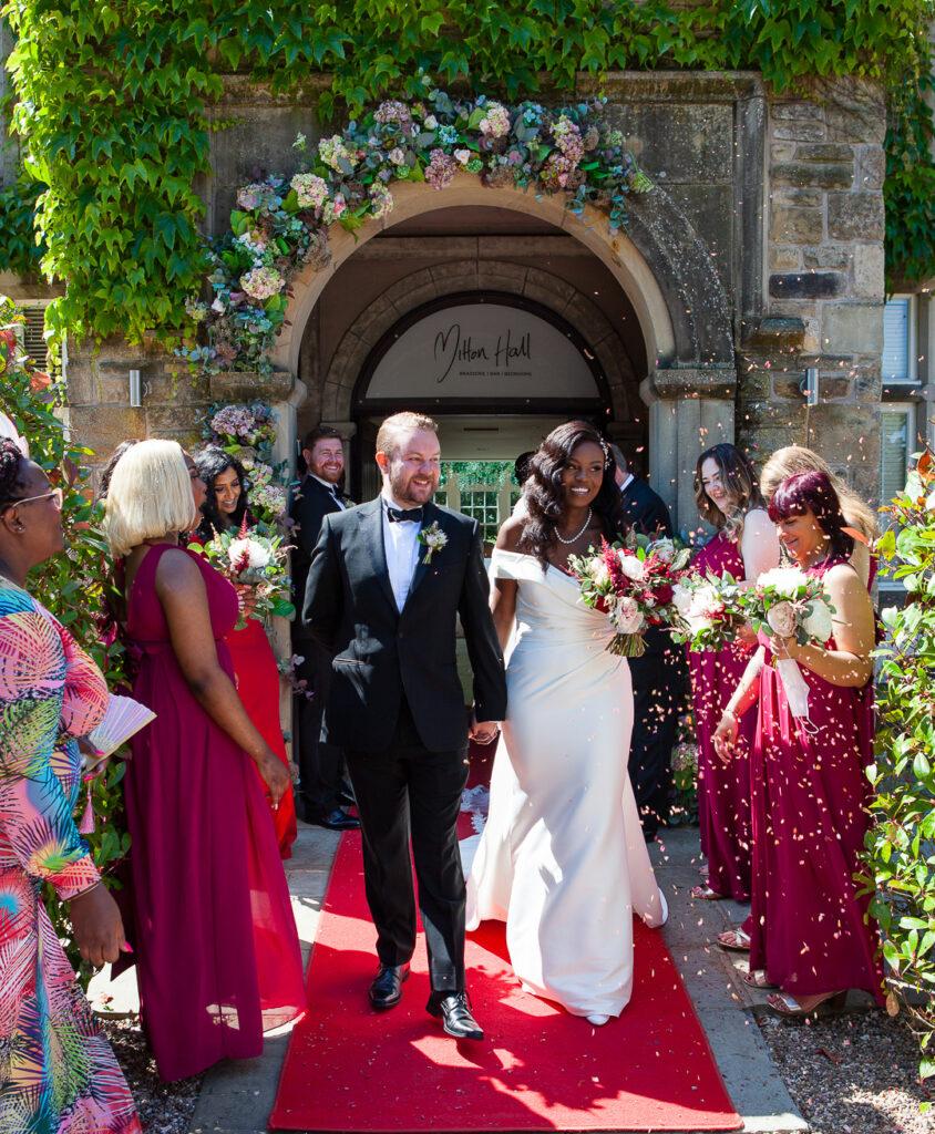 Mitton Hall Wedding Clitheroe Lancashire 84