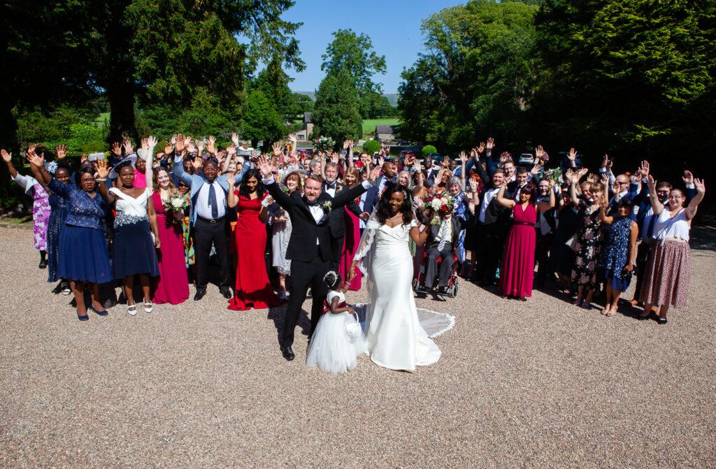 Mitton Hall Wedding Clitheroe Lancashire 92