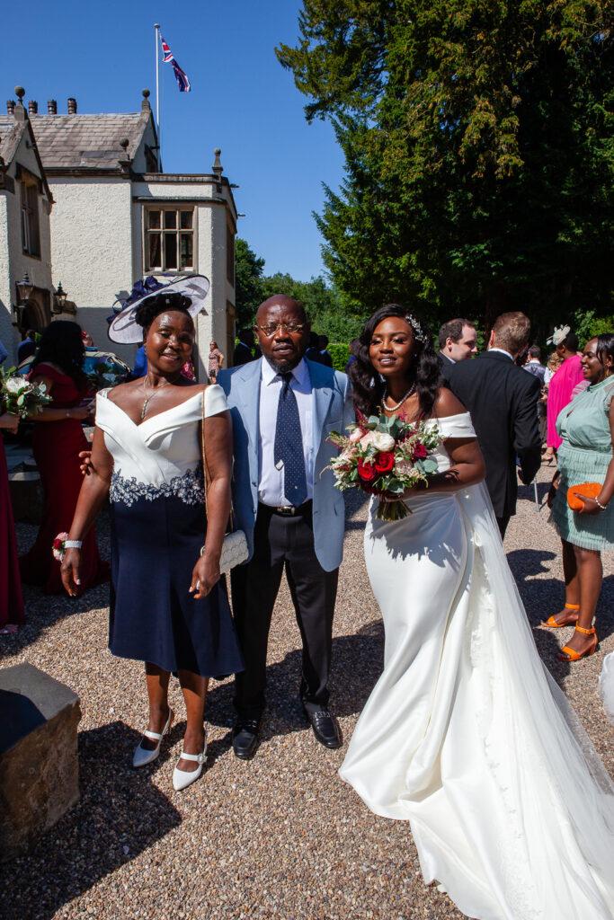 Mitton Hall Wedding Clitheroe Lancashire 93